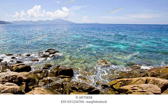 Seascape with small island, Koh Lipe, Thailand