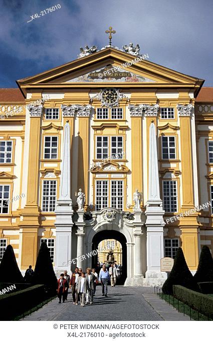 convent Melk, Austria, Lower Austria, Wachau, Melk