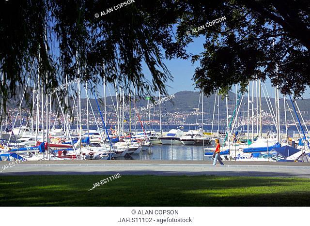 Ria de Vigo, Rias Bajas, Vigo, Galicia, Spain