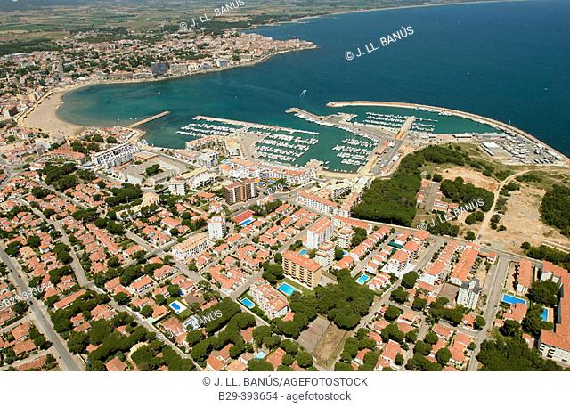 L'Escala. Girona province. Spain