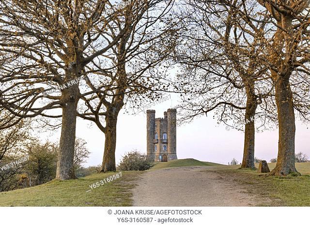 Broadway Tower, Cotswold, Gloucestershire, England, UK
