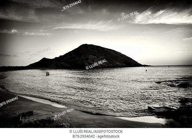 Sa Mesquida beach, Minorca, Balearic Islands, Spain