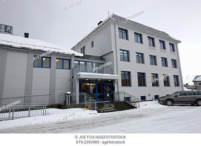 Nordkapp kommune North Cape council offices Honningsvag finnmark norway europe