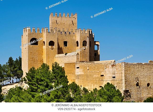 Moorish castle of Velez Blanco. Almeria province, Andalusia, Southern Spain Europe
