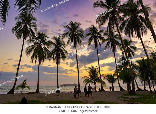 Beach, Corcovado National Park, Osa Peninsula, Costa Rica