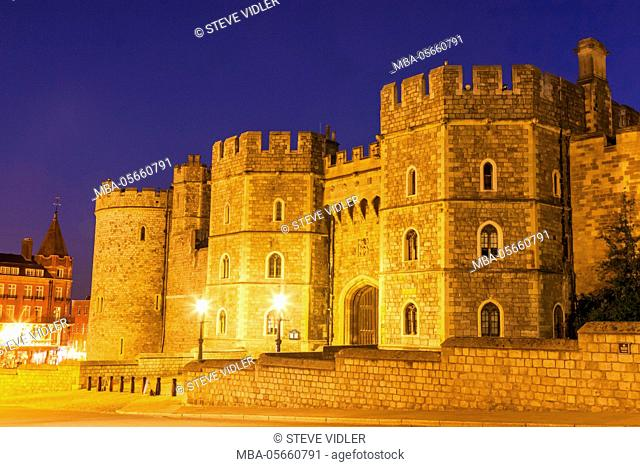 England, Berkshire, Windsor, Windsor Castle