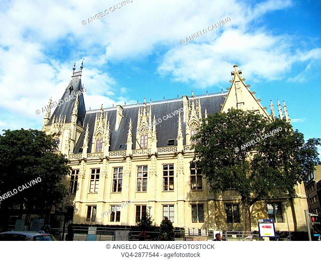 Palace de Justice in Rouen, Normandy, France