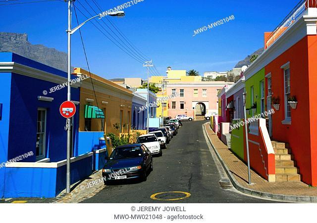 Cape Town, South Africa Bo Kaap area, historic Malay quarter 09-19-2007