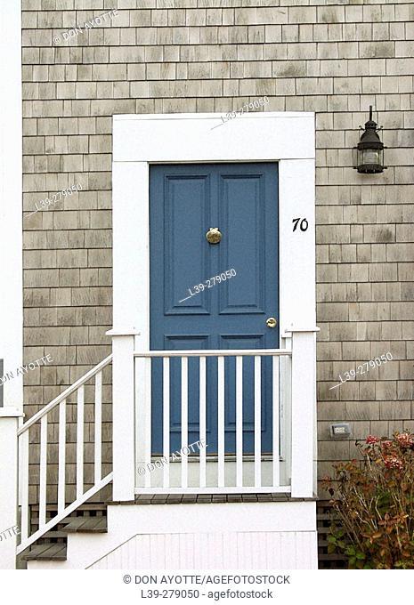 Door. Nantucket. Massachusetts. USA