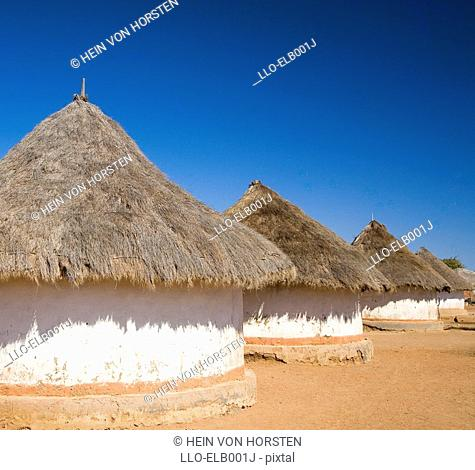 Local Venda Mud Huts Homes  Venda, Limpopo Province, South Africa