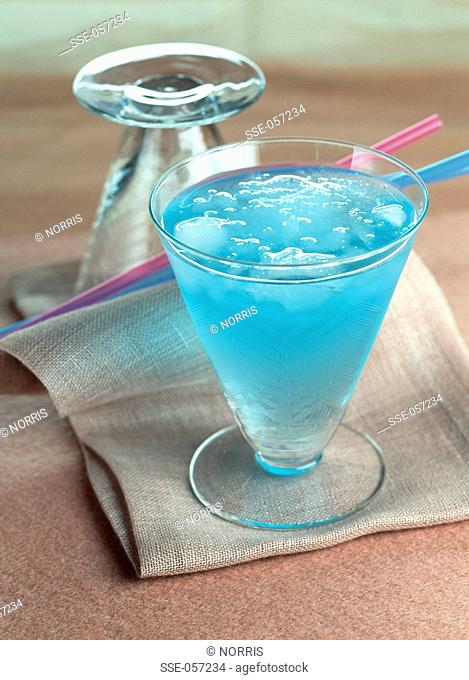 The blue monday cocktail