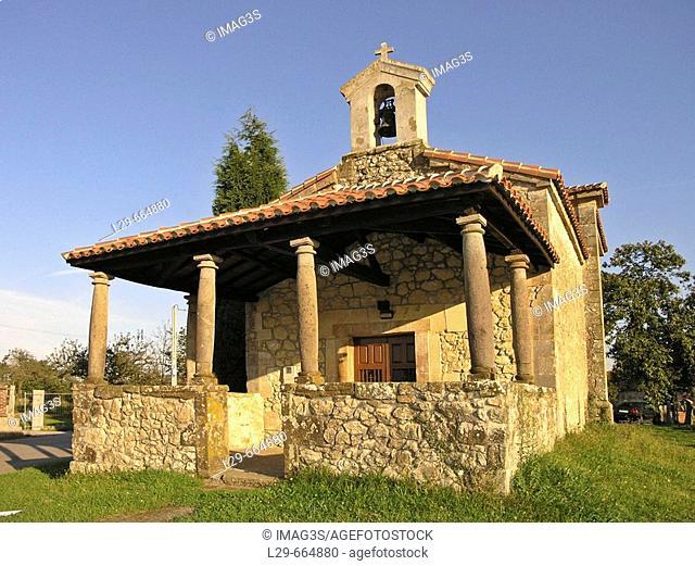 Santos Martires chapel, Llames, Nava, Asturias, Spain