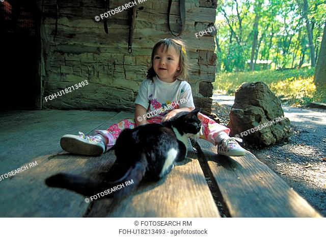 cat, kid, child, pet, animal