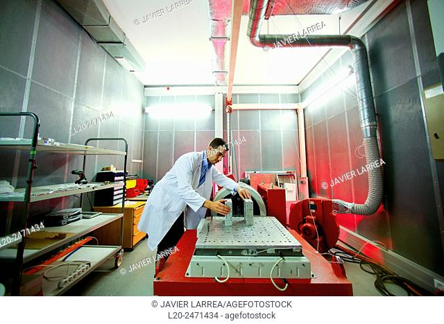 Researcher. Vibration Chamber Laboratory. EMC & Telecom Lab. Certification of Low Voltage Electrical & Electronic Products