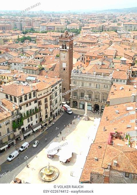 piazza del erbe in Verona