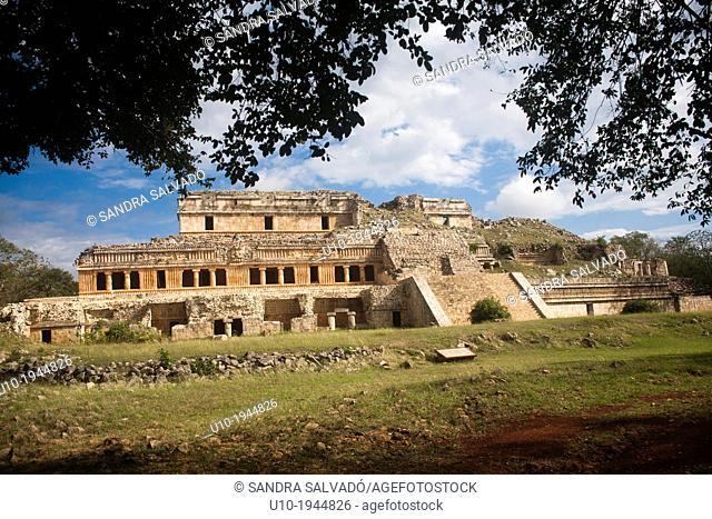 Mayan arqueological site Sayil, Yucatan, Mexico
