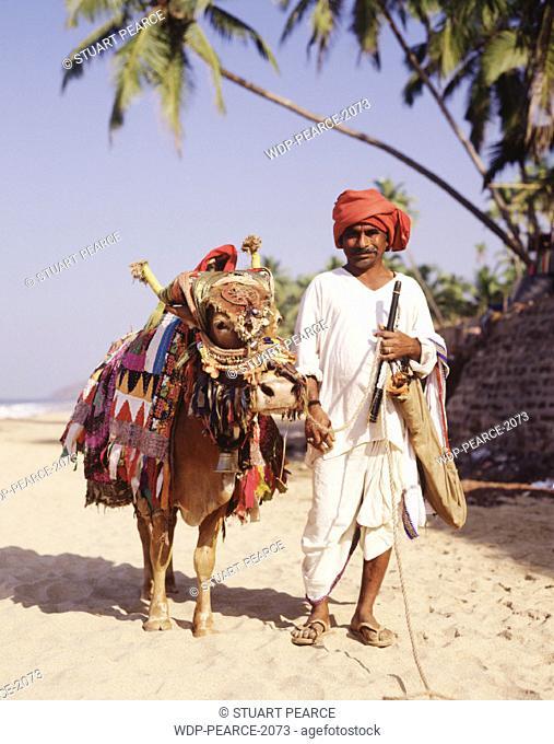 Local Man, Anjuna, North Goa, Goa, India