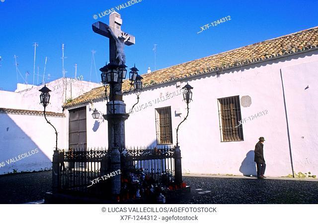 Córdoba Andalusia  Spain: Cristo de los Faroles  In Plaza Capuchinos