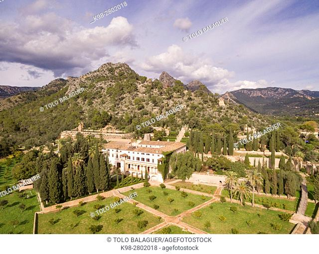 Raixa, possession of Arab origin, Bunyola municipality, Mallorca, Balearic Islands, Spain