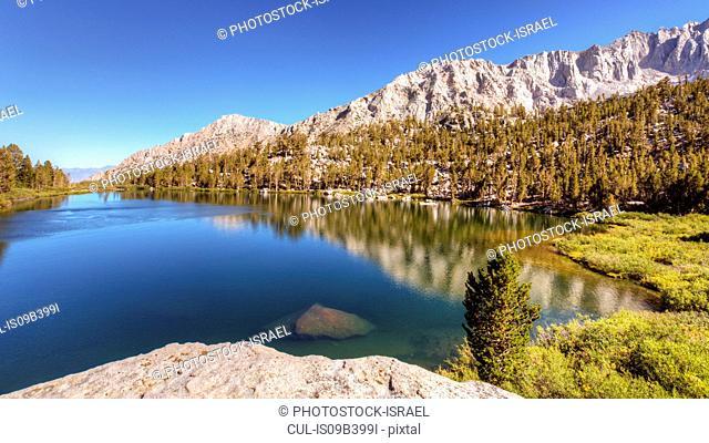 Onion Valley, Sierra Nevada mountain range, California, USA