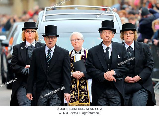 The funeral of Stephen Hawking at Great St. Mary Church in Cambridge Featuring: Revd Dr Carolyn Hammond, Atmosphere Where: Cambridge