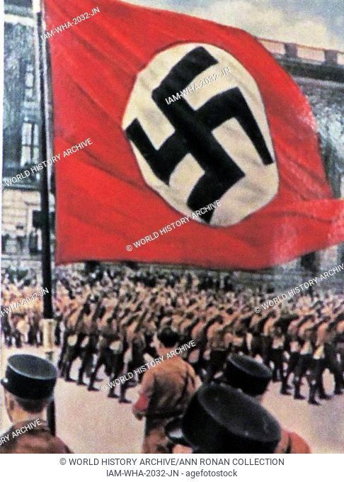 Brunswick Nazi rally circa 1933