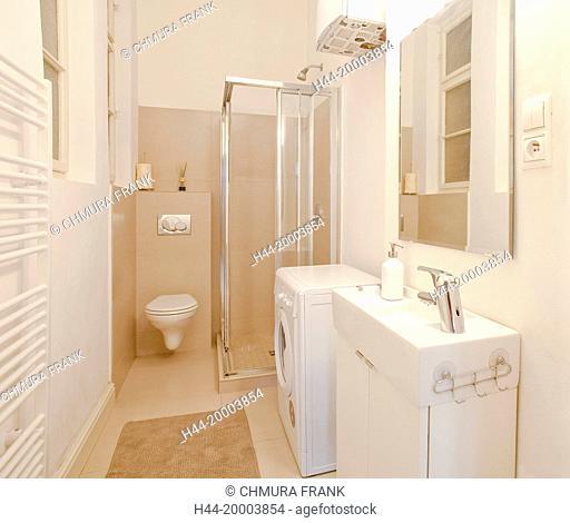 Apartment Interior - Modern Bathroom