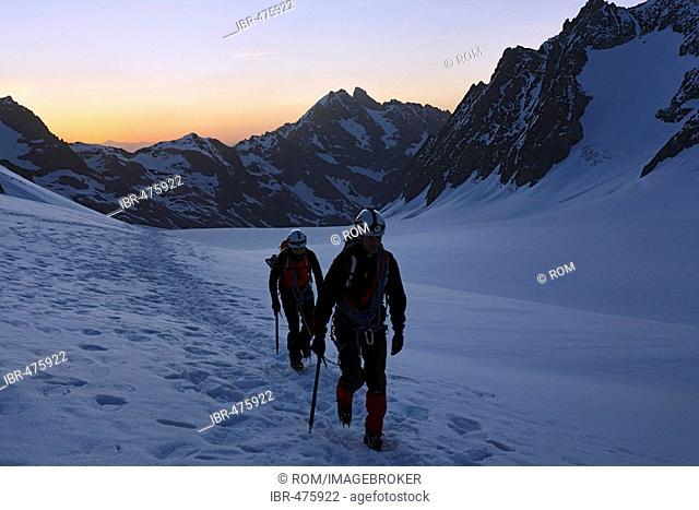 Barre des Ecrins 4.102 m, Glacier Blanc, Provence-Alpes-Cote de Azur, Hautes-Alpes, France