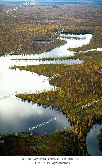 Autumn palette Siberia
