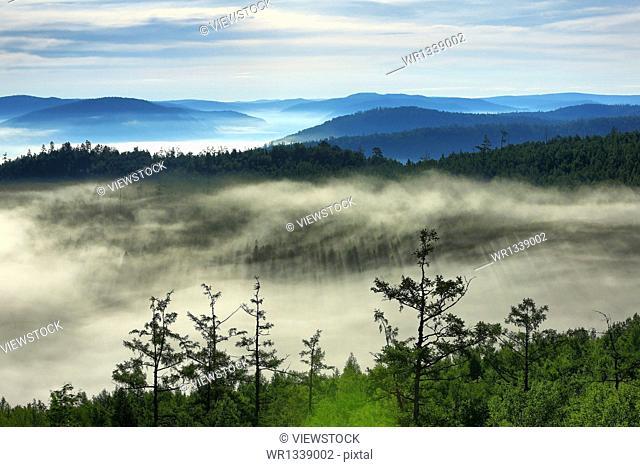 Heilongjiang Daxinganling clouds