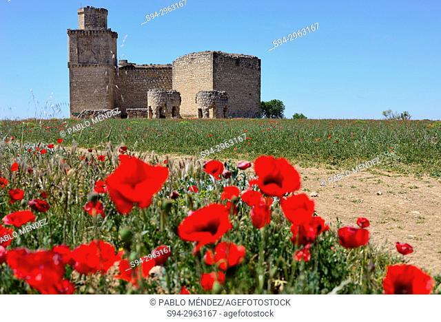 Castle of the Silva or castle of Barcience, Toledo, Spain