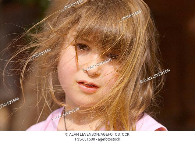 Headshot of 4 to 5 year old girl