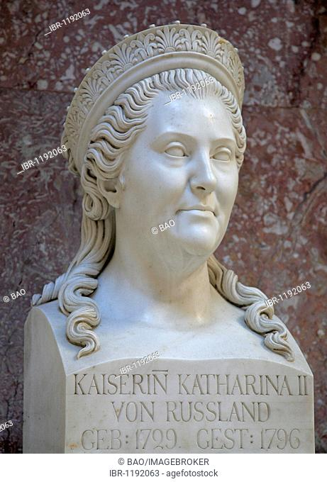Bust of the Empress Catherine II of Russia, the Great, Tsarina of Russia