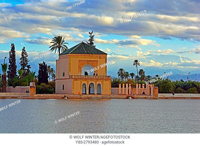 Bassin La Menara, Marakesh, Morocco