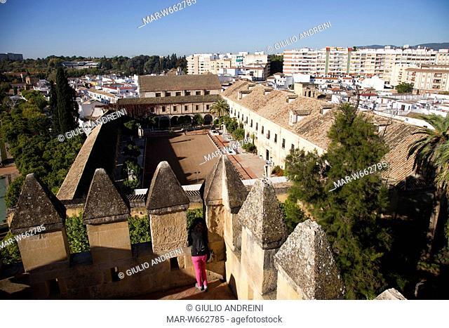 Alcazar de los Reyes Cristianos, Cordoba, Andalucia, Spain