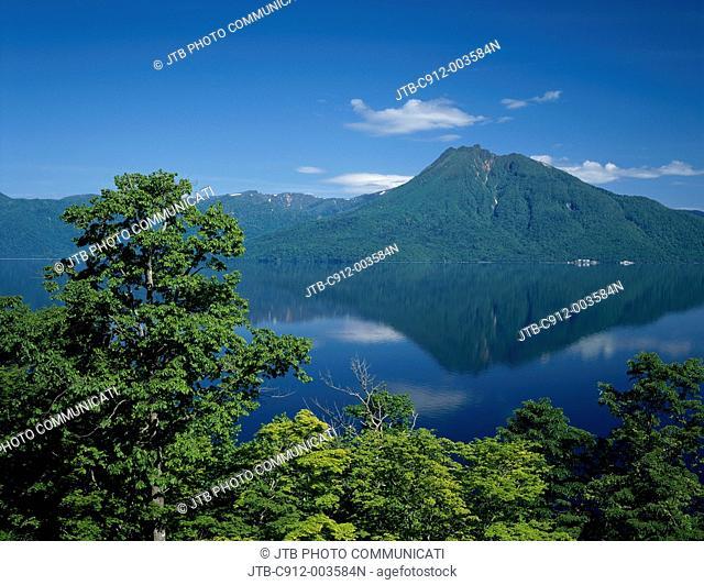 Lake Shikotsu, Mt. Eniwa-dake, Chitose, Hokkaido, Japan