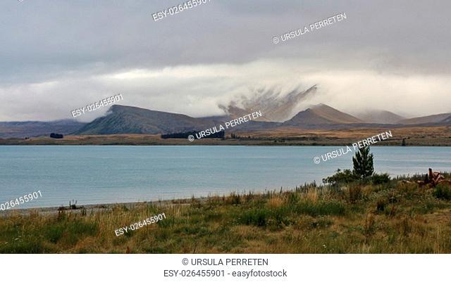 Lake Tekapo and Mt Dobson