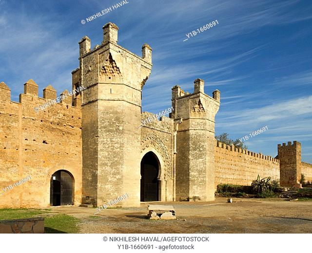 Marinid Gate Chellah Necropolis Rabat