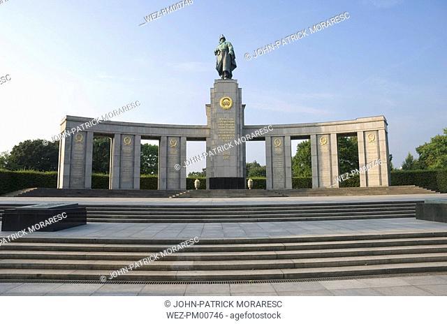 Germany, Berlin, Soviet War Memorial