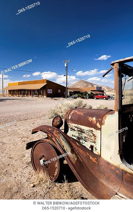 USA, Nevada, Great Basin, Goldfield, ghost town