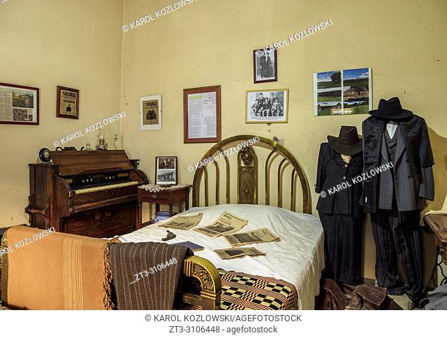 Butch Cassidy Room, Touring Club Hotel, Trelew, The Welsh Settlement, Chubut Province, Patagonia, Argentina