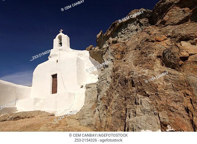 Orthodox chapel near the town center, Naxos, Cyclades Islands, Greece Islands, Greek Islands, Greece, Europe