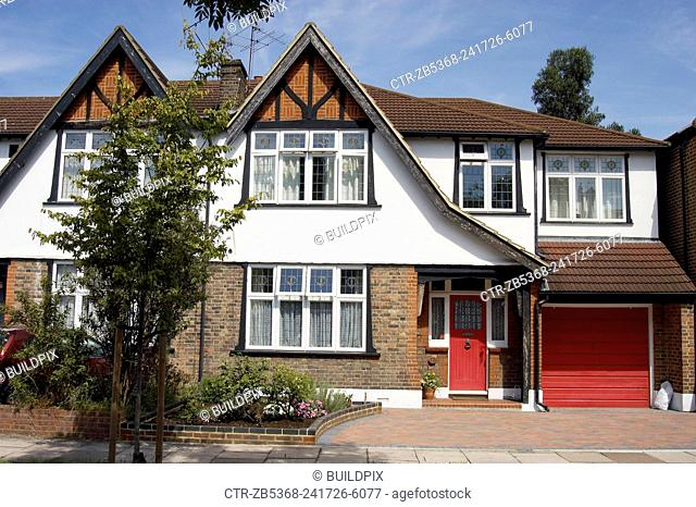 1970s house, North London