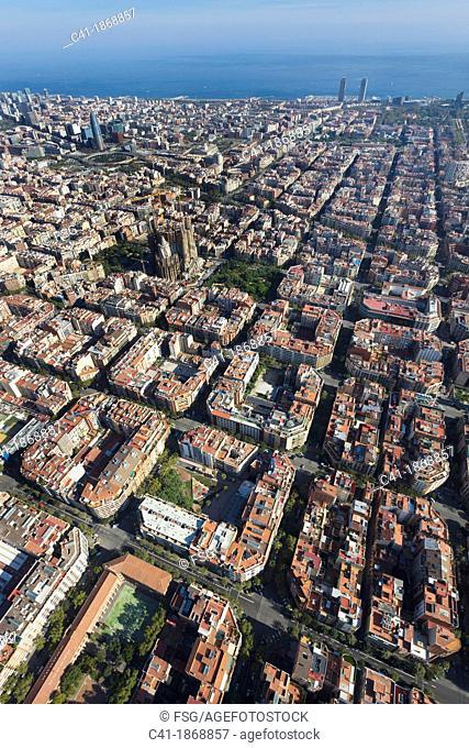 l'Eixample  Barcelona, Spain