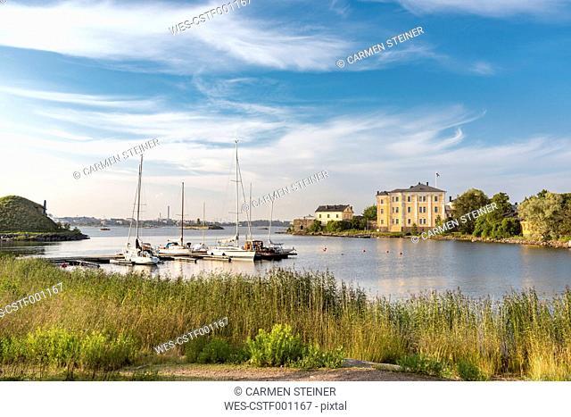 Finland, Helsinki, Suomenlinna, naval college