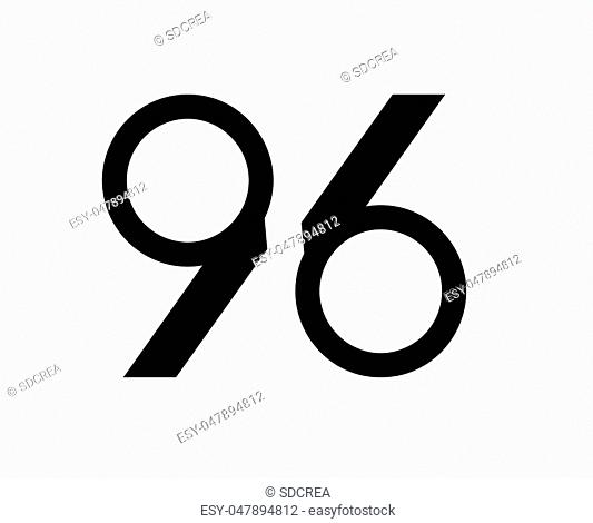 Abstract Number Design. AI 10 Supported