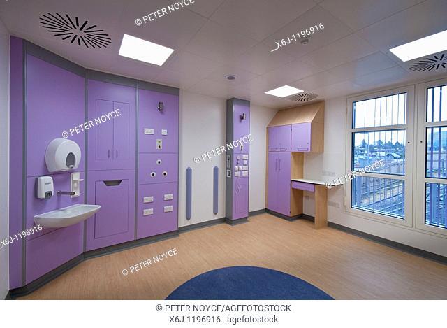 Southampton Hospital Haematology Department single room