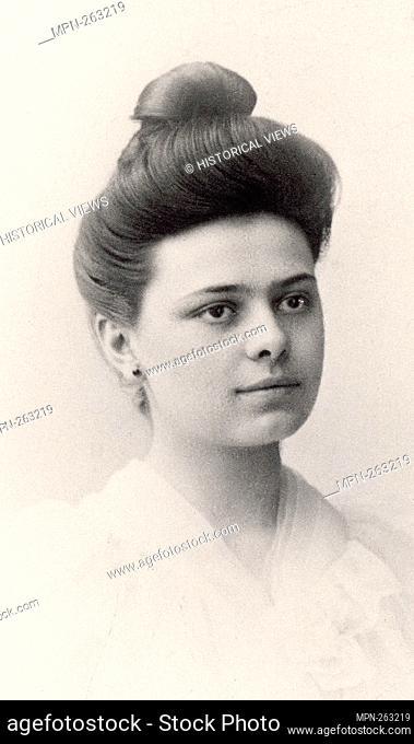 Elizabeth of the Trinity (Élisabeth de la Trinité, born Élisabeth Catez), at the age of 20