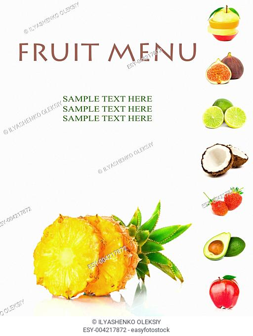 FRUIT MENU