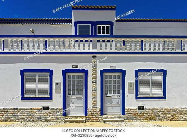 Residential house in the Mediterranean style, Santa Luzia, Algarve, Portugal